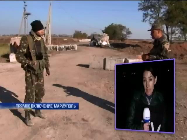 Террористы угрожают захватывать села под Мариуполем (видео)