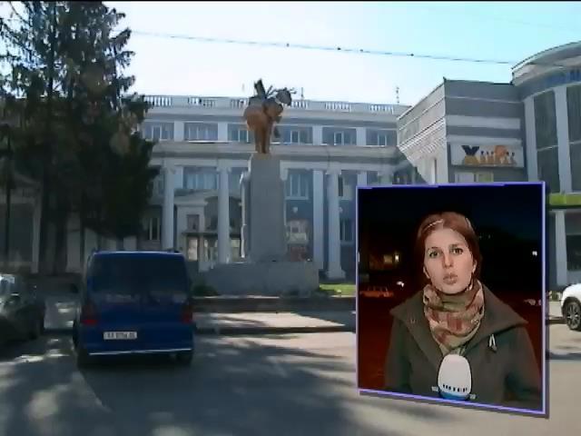 В Харьковский области снесли четыре памятника Ленину (видео) (видео)