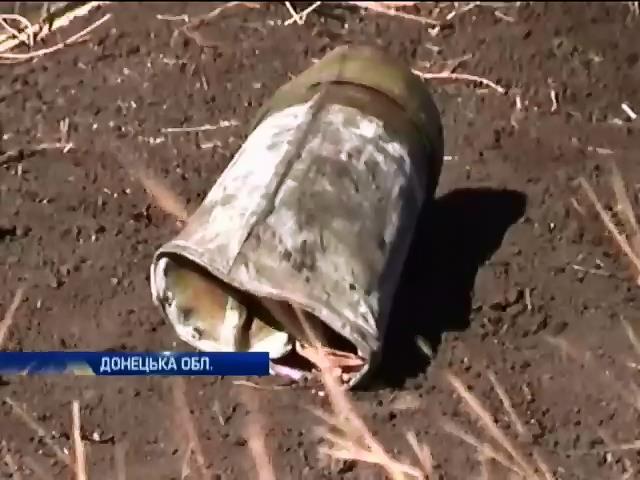 Терористи розстрiляли своi позицii пiд селищем Пiски (вiдео) (видео)