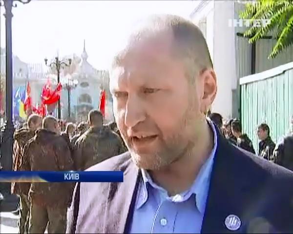 Правий сектор заперечив свою участь у провокацiях пiд Верховною радою (видео)