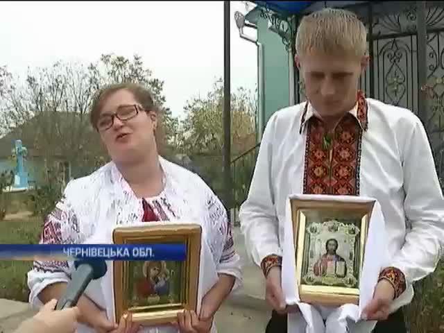 Буковинець одружився пiсля п'яти мiсяцiв у зонi АТО (видео)