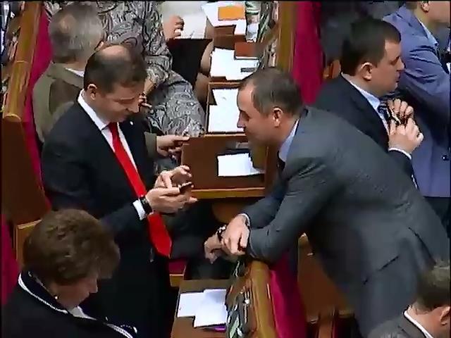 Депутаты увидели в законе про выборы схемы времен Януковича (видео) (видео)