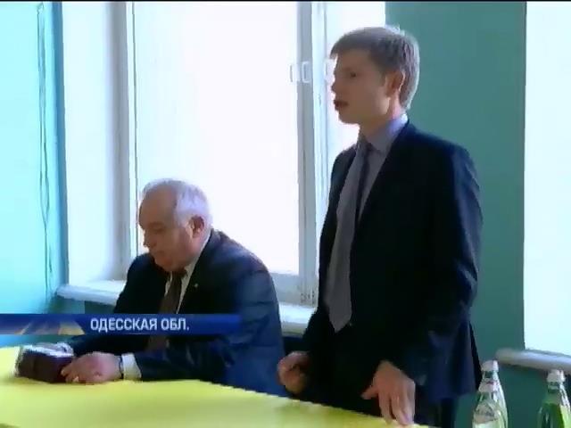 В Одессе глава облсовета указывал чиновникам, за кого нужно голосовать (видео) (видео)