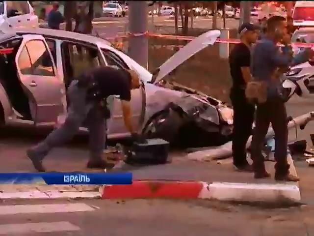 Пiсля теракту в Iзраiлi всю нiч тривали сутички палестинцiв з полiцieю (видео)