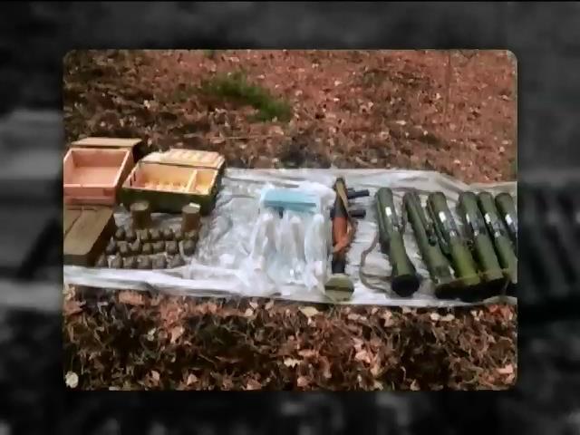На Луганщинi СБУ знайшла вибухiку, що готували для терактiв (видео)