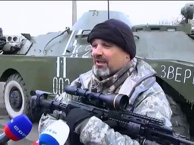 Террористы под Мариуполем ищут водителей для танков и БТР (видео)