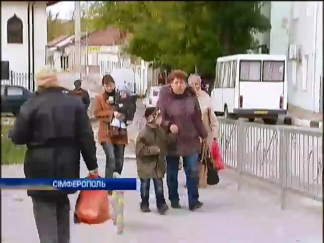 В Криму не вiдкрилася жодна виборча дiльниця (видео)