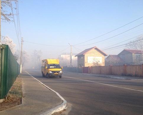 Город Ирпень под Киевом задыхается от дыма горящих торфяников (фото)
