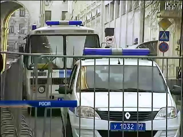 У Москвi посилили охорону посольства Украiни (видео)