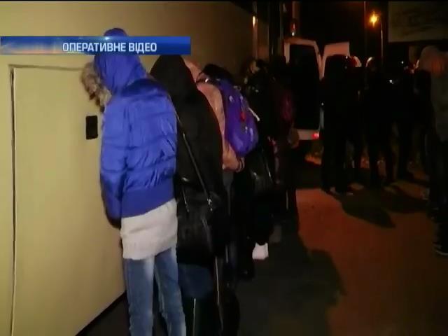 """В Черкасах затримали 200 наркоманiв, що планували влаштувати """"каруселi"""" (видео)"""