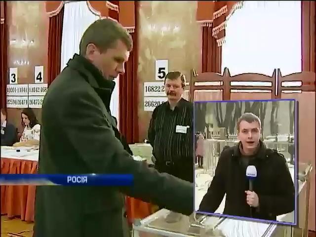 Спостерiгачi з Данii та Швецii слiдкують за голосуванням украiнцiв в Москвi (видео)