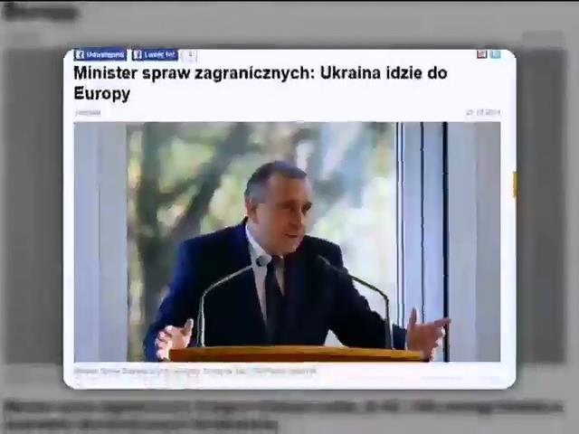 """Польша назвала выборы в Украине """"большим шансом для страны"""" (видео)"""