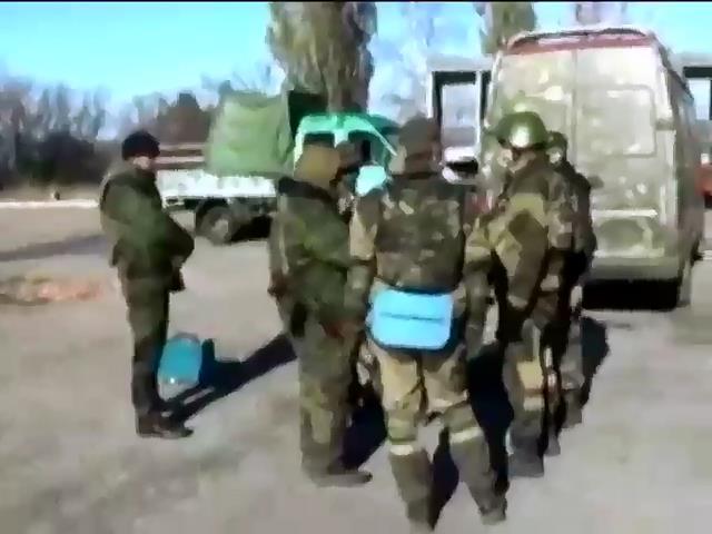 Терористи облаштовують вогневi позицii в багатоповерхiвках поблизу аеропорту Донецька (видео)