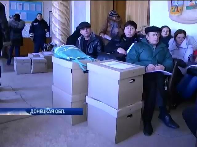 В Волновахе кандидатам в депутаты добавили до тысячи голосов (видео) (видео)