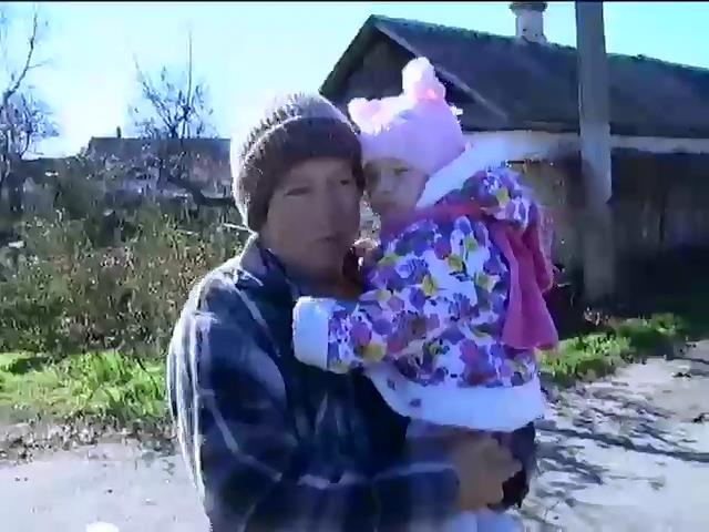 Жителi Гнутового через обстрiли живуть у пiдвалах (вiдео) (видео)