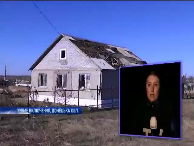 Артилерiю терористiв на Талакiвку навiв безпiлотник (видео)