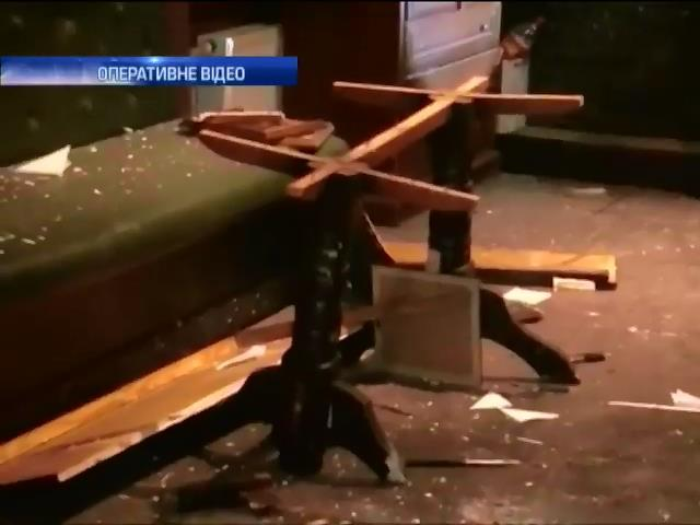 В Одесi п'яниця пiдiрвав гранату у барi (видео)