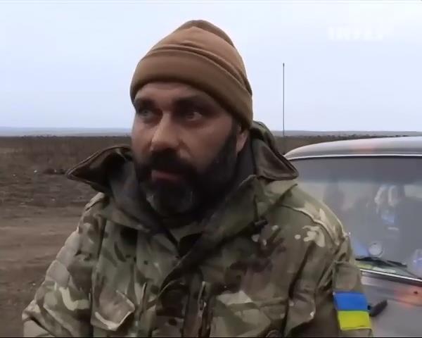 Вiйськовi Росii замiнюють терористiв на позицiях (вiдео) (видео)