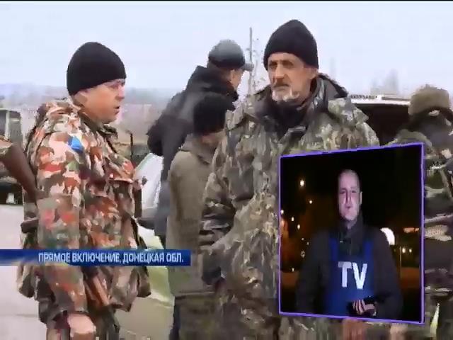 На Донбассе террористы готовятся к прорыву обороны (видео) (видео)
