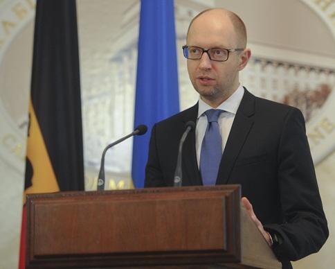 Яценюк готов подписать коалиционное соглашение