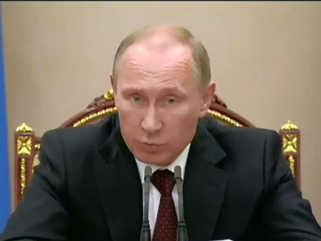 Путiн обiцяe не допустити революцii в Росii (видео)