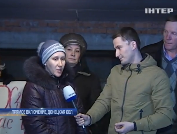 Жители Дебальцево 5 месяцев живут в подвалах (видео) (видео)