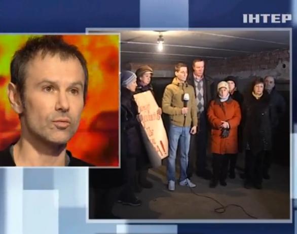 Вакарчук пообещал помочь пострадавшим в Дебальцево (видео)