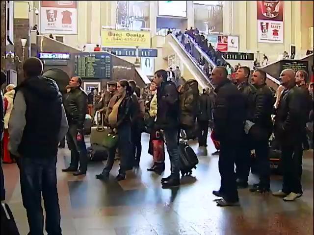 Пiвмiльйона украiнцiв покинули Донбас (видео)