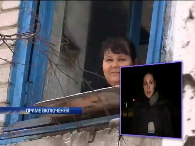 У Горлiвцi терористи вiд злостi стрiляють у мирних жителiв (видео)