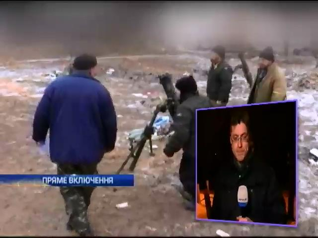 Конвой Путiна привiз терористам новi танки (видео)