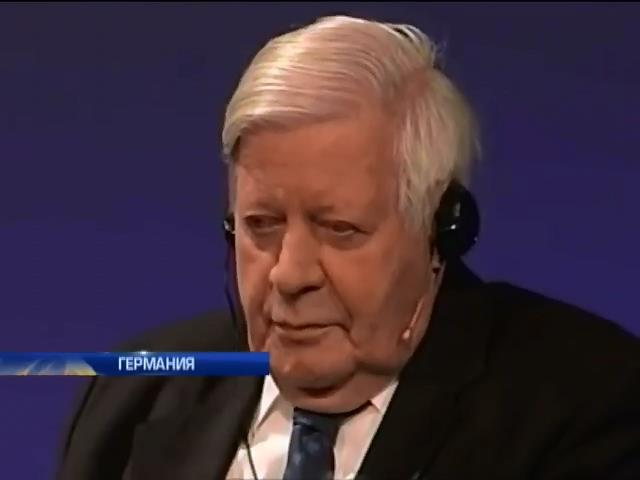Экс-канцлера ФРГ Шмидта обвинили в симпатиях к нацистам (видео)