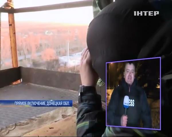 Аэропорт Донецка после перемирия обстреляли из Градов (видео)