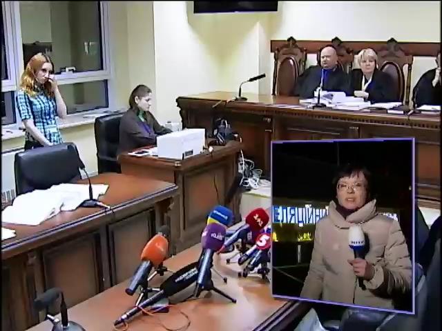 Беркутовца Зинченко оставили в СИЗО на два месяца (видео)