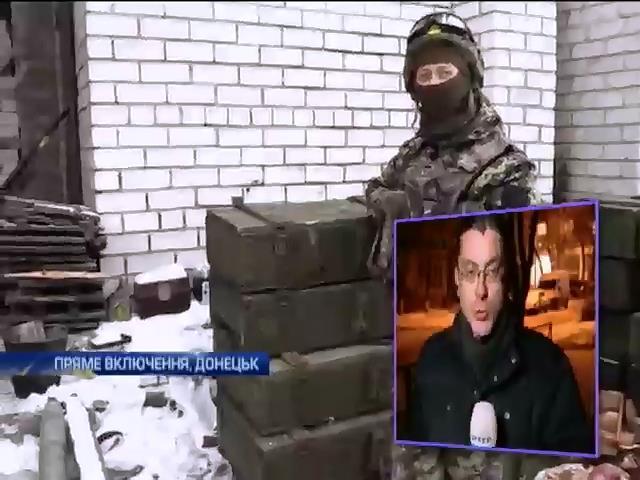 В аеропорту Донецька йде бiй з терористами (видео)