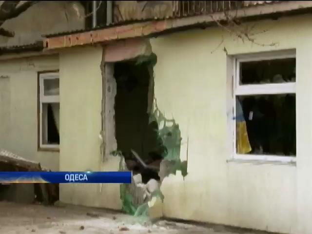 Пiдривникiв магазину в Одесi було двоe (видео)