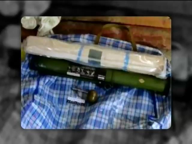 СБУ виявила схованки терористiв пiд Слов'янськом (видео)
