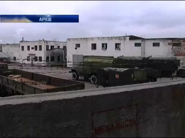 Вiйськовi частини у Харковi охоронятимуть посилено (видео)