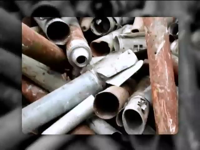 У Харковi сдавали на металобрухт частини Градiв (видео)