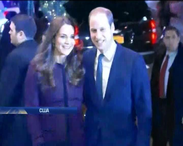 Принц Вiльям з Кейт Мiддлтон завiтали до США (видео)