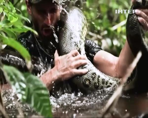 Анаконда зiрвала скандальне шоу канала Discovery (видео)