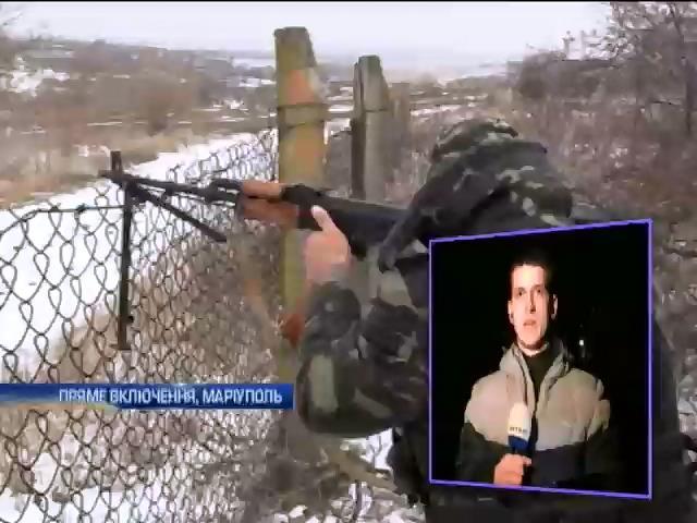Пiд Марiуполем не вщухають дуелi артилеристiв (видео)