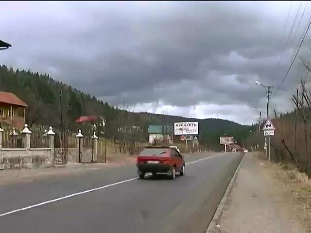 У газогонi на Закарпаттi утворилася метрова дiра (видео)