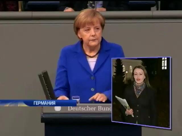 Меркель обвинила Москву в нарушении международного права (видео)