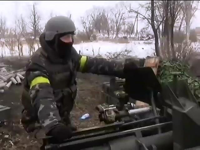 Террористы подтянули бронетехнику к аэропорту Донецка (видео)