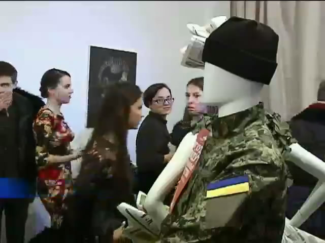 У Днiпропетровську розпродували Гуччi та Арманi на допомогу вiйськовим (видео)