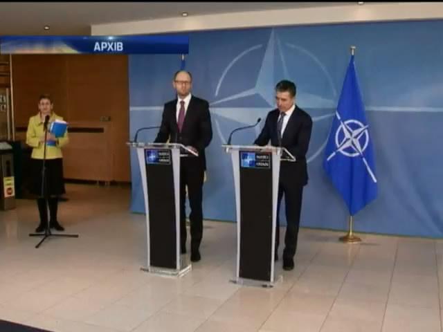 Яценюк та Столтенберг обговорять питання зближення Украiни до НАТО (видео)