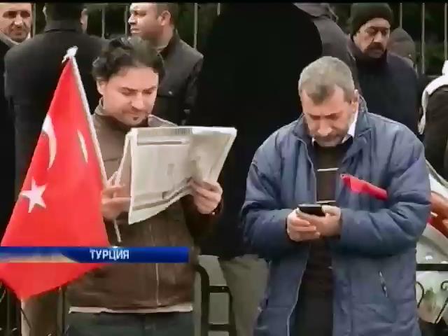 Полиция Турции арестовала 20 журналистов (видео)