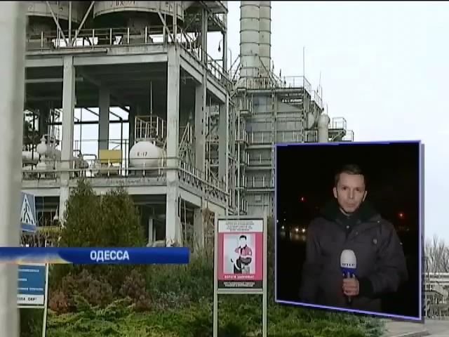 На Одесском НПЗ сливают нефтепродукты на миллионы долларов (видео)