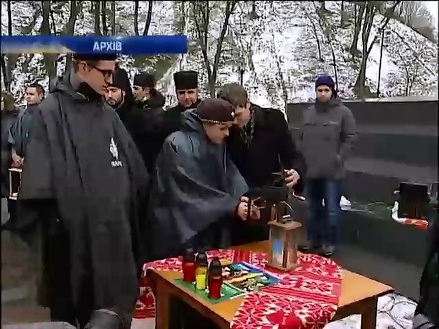 Сьогоднi до Львова привезуть Вифлиeмський вогонь (видео)