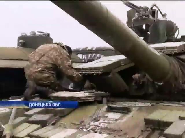 Вiйськовi укрiплюють оборону Марiуполя (видео)